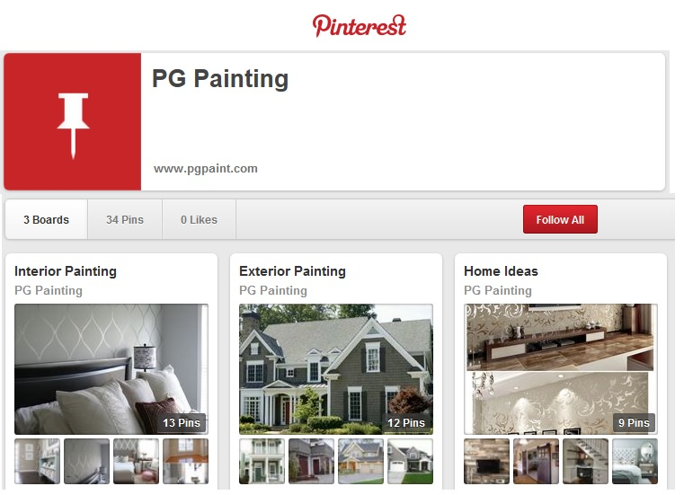 PG Painting Pinterest Ideas