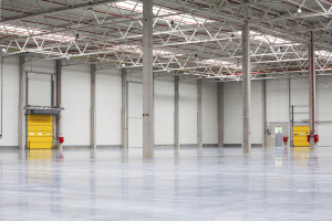 Interior Warehouse Commercial Painting