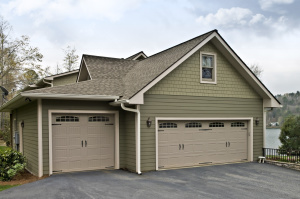 Exterior Carpentry / Home Repair on garage with siding  - Narberth