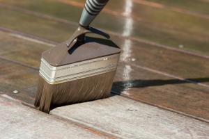 Home Repair - Staining hardwood flooring