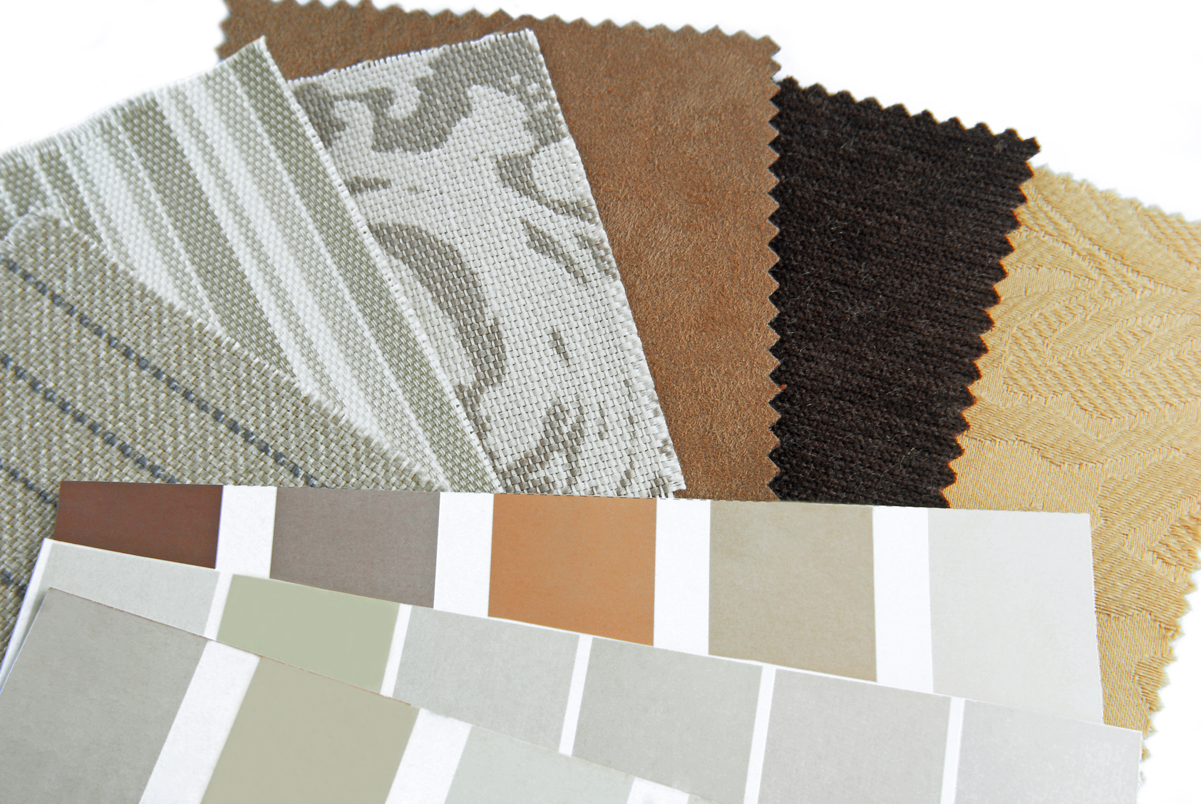 Interior Painting - Color Swatches - PG Painting